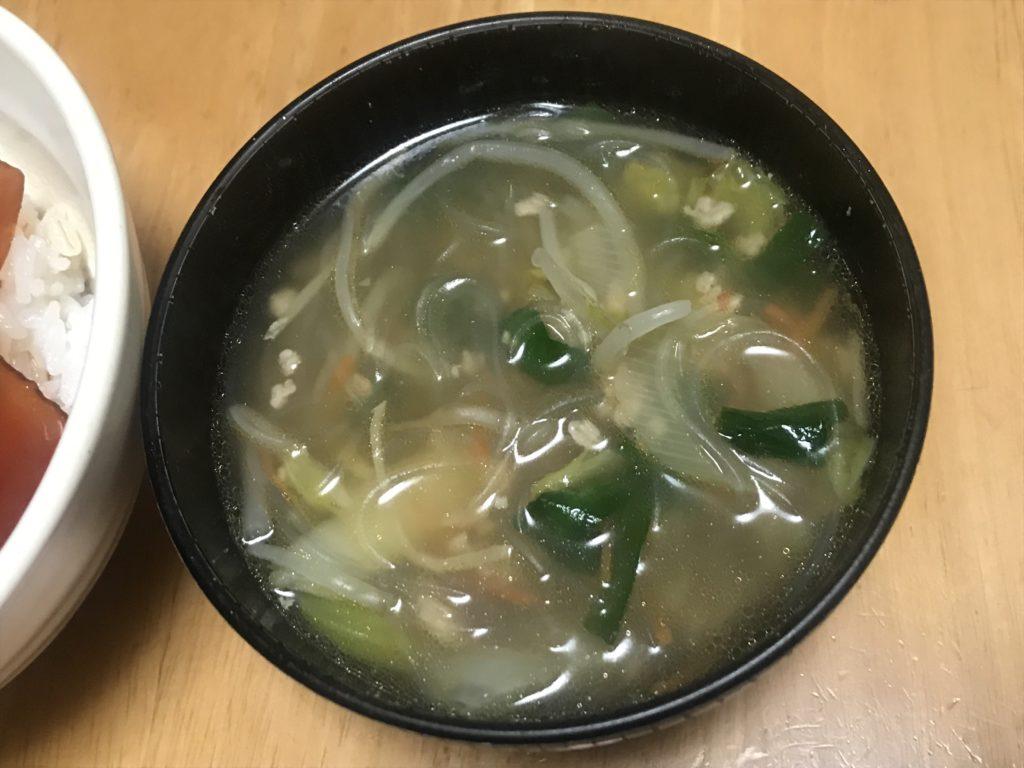 パルシステム ミールキット たっぷり野菜と春雨の具沢山スープ